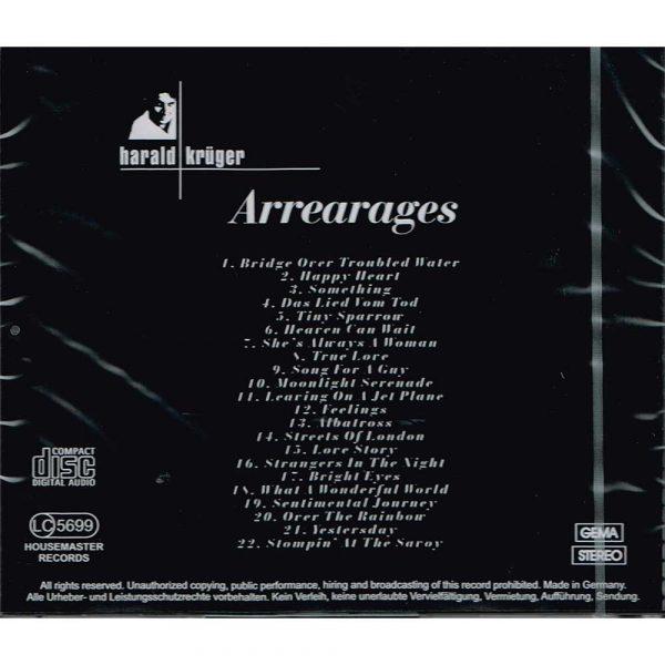 Harald Krueger- Arrearages CD kaufen