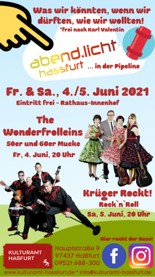 Krueger rockt Hassfurt flyer eventplaner