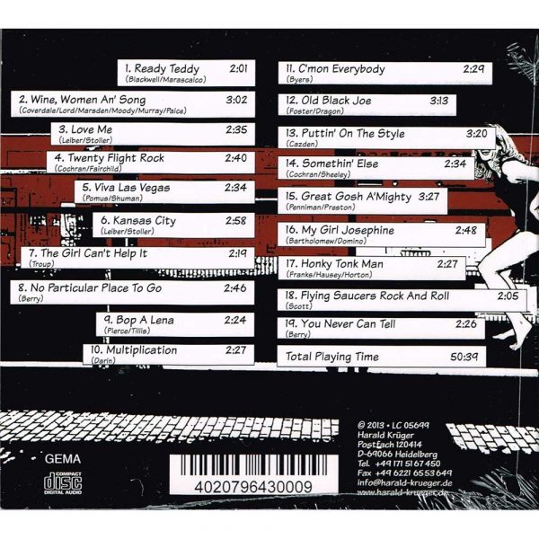 Krueger rockt Wine, women and Song CD kaufen
